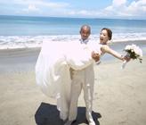 ジンバランビーチ ~フォトプラン~ U.Y様&U.A様 バリ島