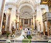 アマルフィ サンタ・トロフィメーナ教会 挙式 T.H様&T.M様 イタリア