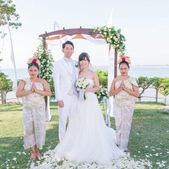 フォーシーズンズ リゾート バリ アット ジンバラン ベイ N.K様&N.Y様 バリ島