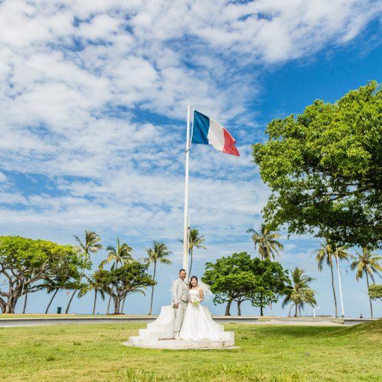 ヌメアビーチ&大聖堂 〜フォトプラン〜 O.T様O.A様 ニューカレドニア