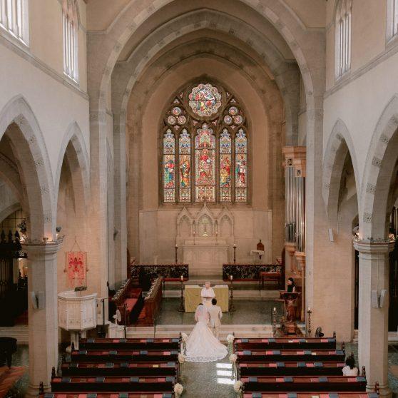 セントジェームス教会挙式 N.Y様&N.Y様 イタリア