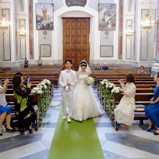 サンタ・トロフィメナ教会挙式 T.Y様&T.M様 イタリア